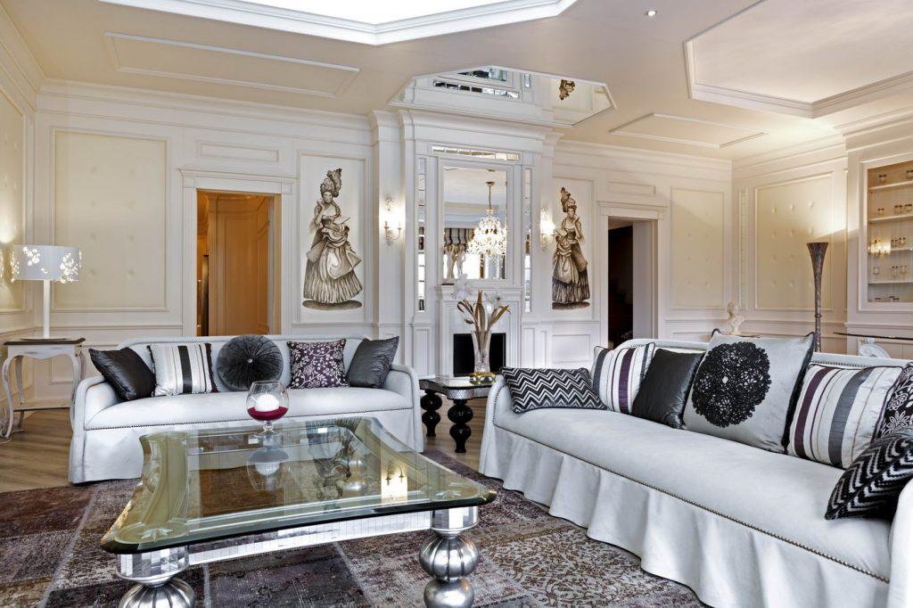 Favorito Classic living area - Mobili Ferrero EP82
