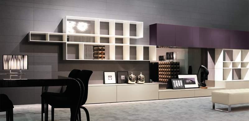 Zona giorno moderna mobili ferrero for Arredamento zona giorno
