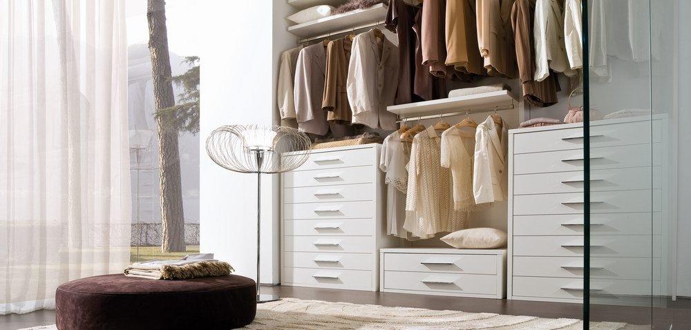 Zona notte moderna mobili ferrero - Cassettiera per cabina armadio ...