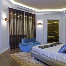 Boiserie camera da letto