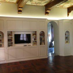 Salone in boiserie moderna Torino