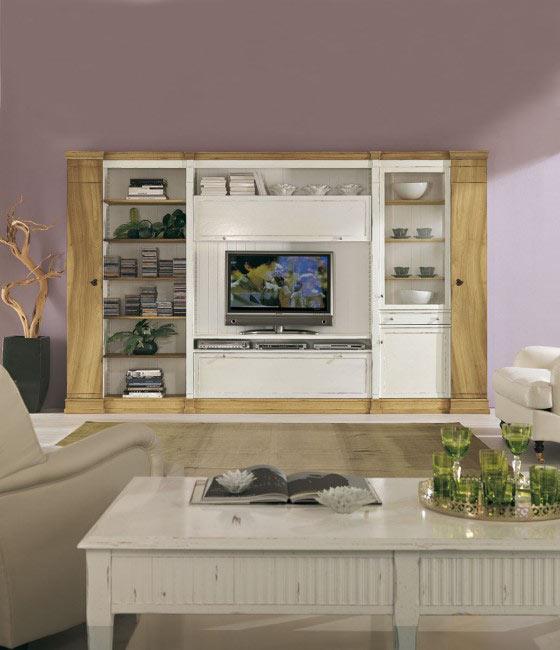 classic living area - mobili ferrero - Mobili Living Design