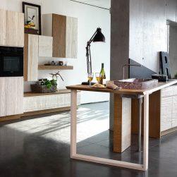 Cucina legno classico